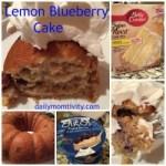 Lemon Blueberry Bundt Cake – Recipe level: Unbelievably Easy