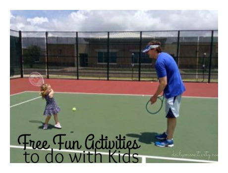 A list of fun FREE family activities