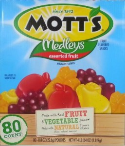 The Quest for Healthy Fruit Snacks