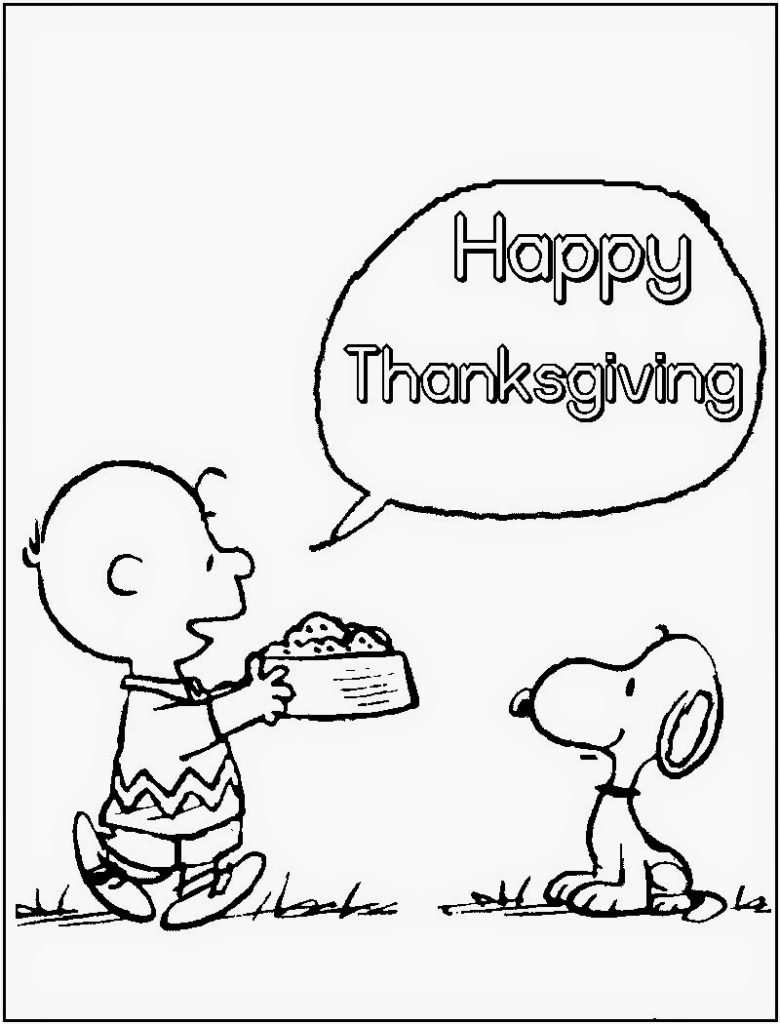 Free Thanksgiving Coloring Pages -