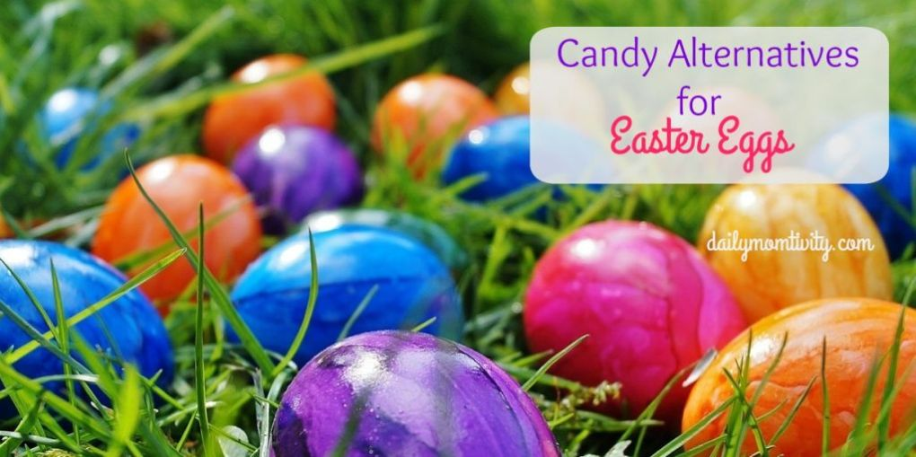 A great list to stuff eggs with and NO candy involved
