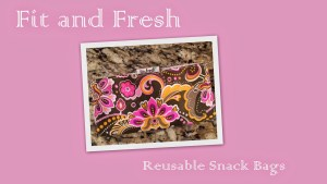Fit and Fresh Reusable Snack Pouches {GIVEAWAY}