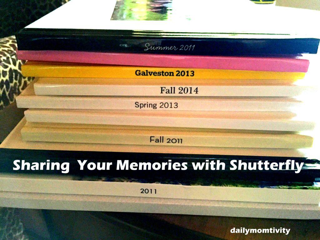 Sharing Memories with Shutterfly dailymomtivity