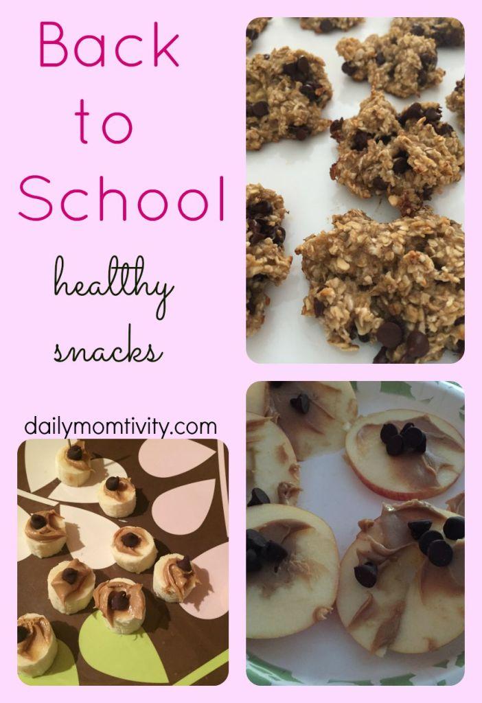 back to school healthy snack ideas