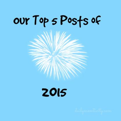 Top5of2015 #dailymomtivity