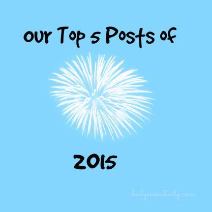 Top5of2015 #dailymomtivity