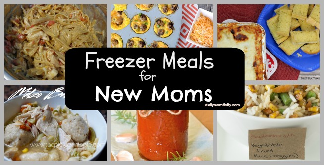 Easy meals perfect to take to New Moms #dailymomtivity