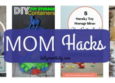Mom Hacks, tips for making life easier for Moms http://dailymomtivity.com