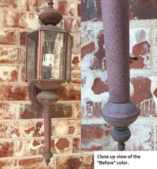 lantern before