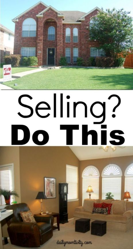Selling Your House? Don't stress, do these simple tricks to get your house sold ASAP https://dailymomtivity.com