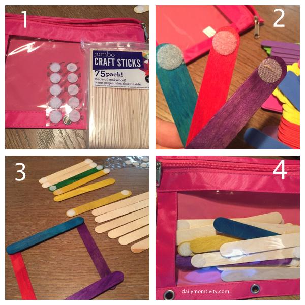 velcro shapes for toddler bag