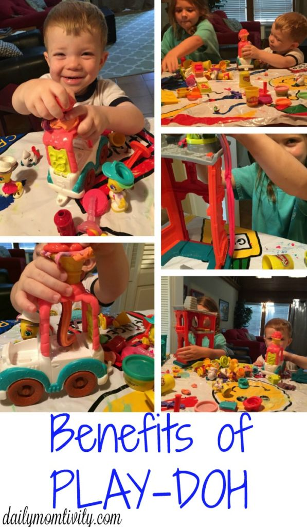 Reasons why you should be letting your kids play! #PlayDohTown #ad #IC