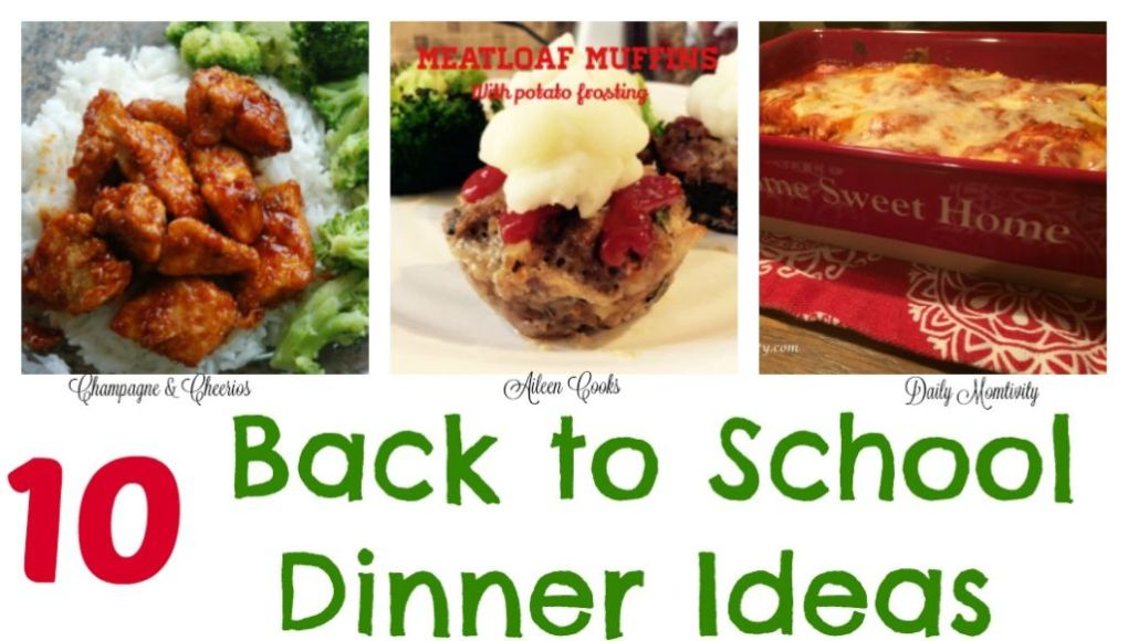 Back to School Dinners