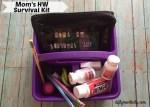 Homework Survival Kit for Moms