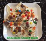 Chocolate Candy Bark {Leftover Candy Idea}