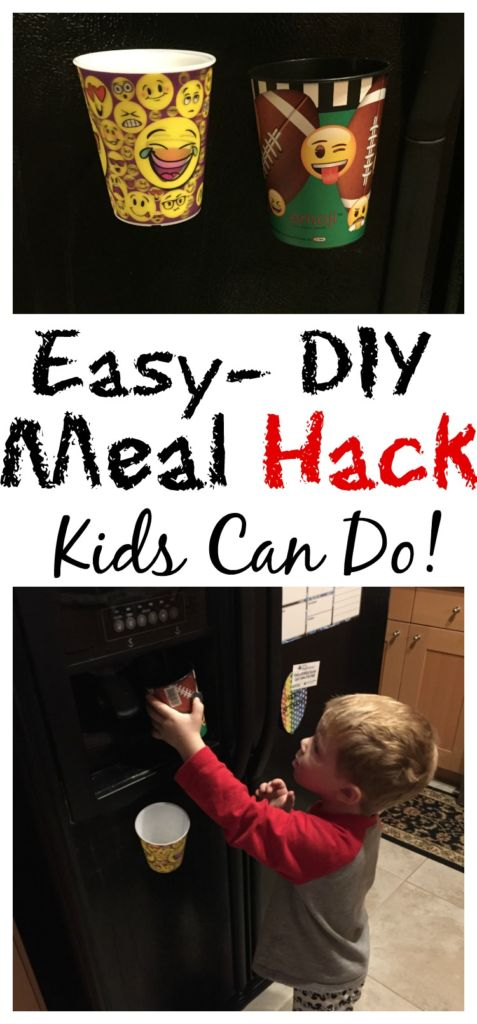 A Simple DIY meal time hack to have kids help you! #KidfreshToTheRescue #ad