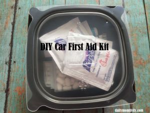 DIY Car First Aid Kit