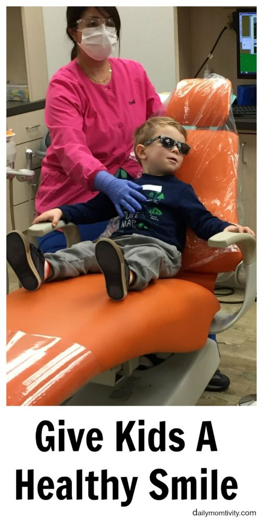 Give Kids a Healthy Smile #GKAS, #IC, #ad