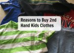 Reasons to Buy 2nd hand Kids Clothing