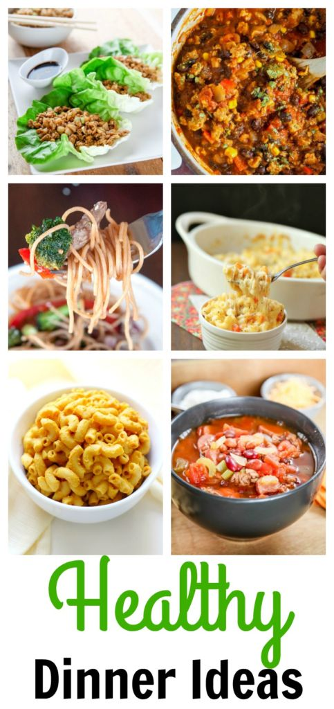 Some great healthy dinner ideas to try!