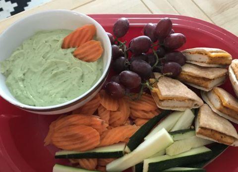 Healthy Avocado Ranch Dip