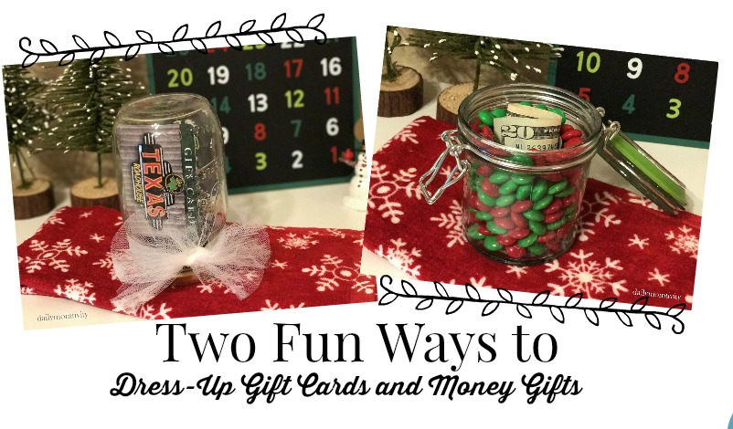 Two Easy Ways to Dress Up Gift Cards or Money Gifts