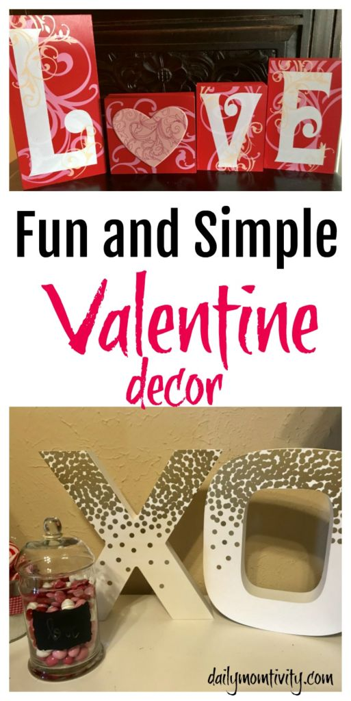 Fun and Simple Valentine's Day decor and ideas from @OrientalTrading