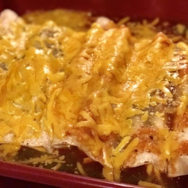 Delicious and Tasty Cheese Enchiladas