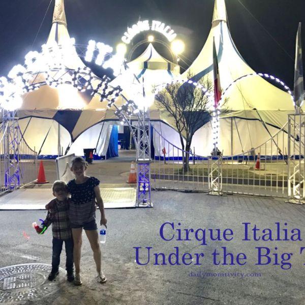 Under the Big Top: The Cirque Italia Event in DFW