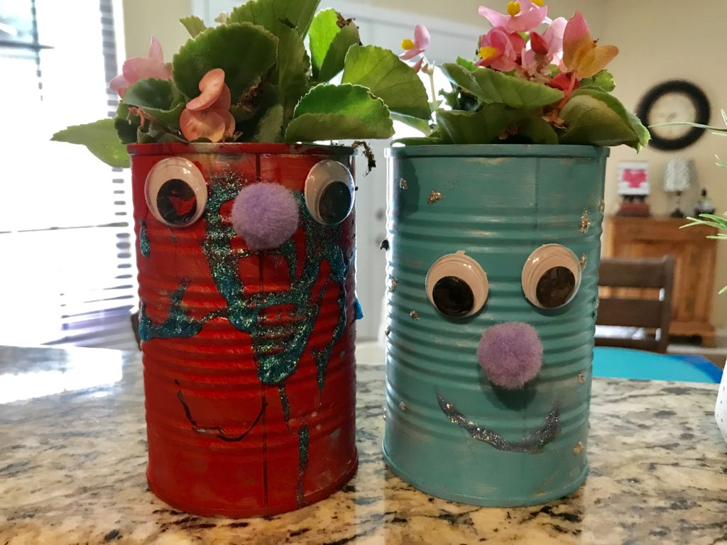 recycled art project for Earth Day