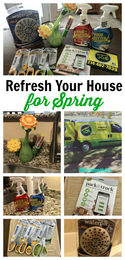 Get Ready for Spring and Refresh Your House #ad #BBoxxRefresh  @rustoleum @scrubdaddy @waterpikshowers @TheDuckBrand @westcottbrand