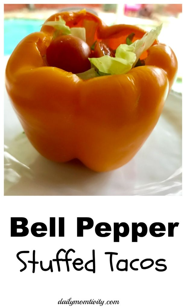 Bell Pepper Stuffed Tacos makes the perfect meal for taco night!