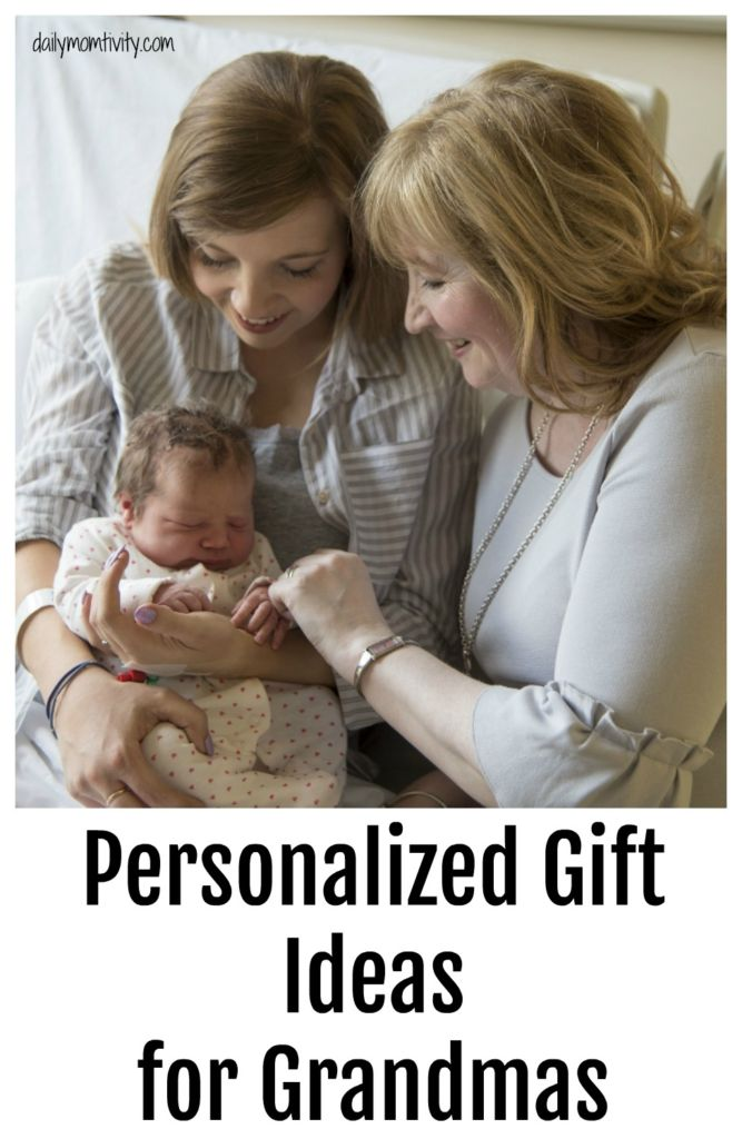 personalized gift ideas for grandmas