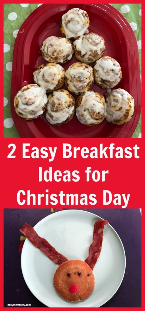 Simple and easy breakfast ideas for Christmas Day morning