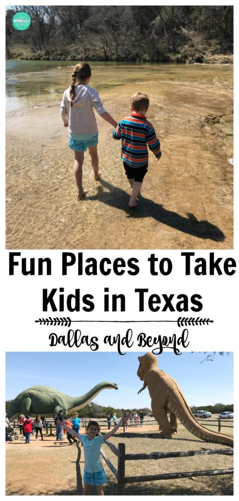 Check out these fun places to take kids in Texas, from Dallas to beyond! There are so many awesome places including Glen Rose, Dallas, Sea World, Galveston, Houston, and more.