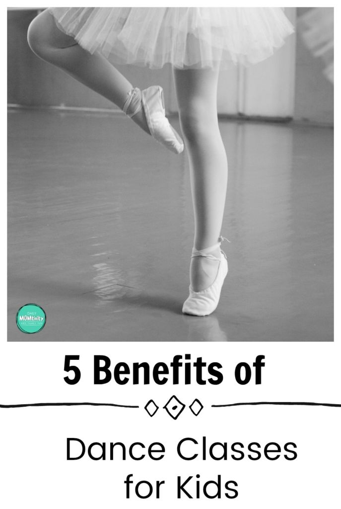 Thinking about putting your child into dance lessons? There are so many great reasons to do it! Check out these 5 Benefits of dance classes for kids.