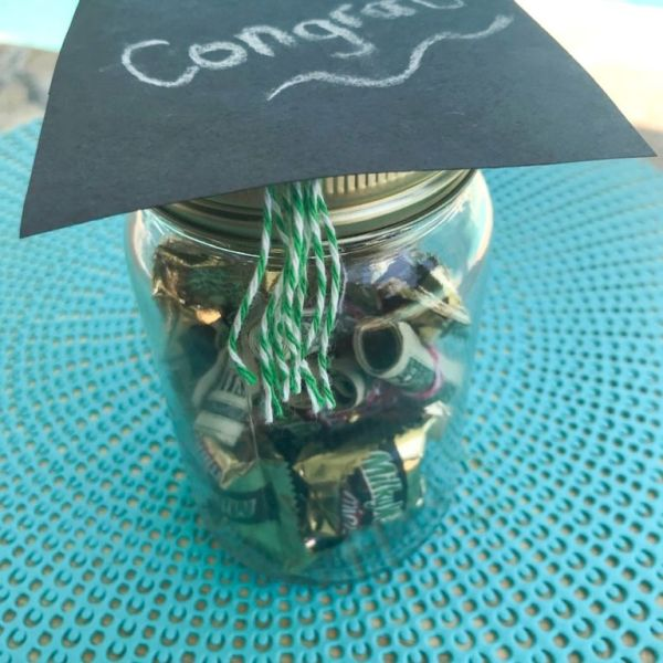 Graduation Hat Jar
