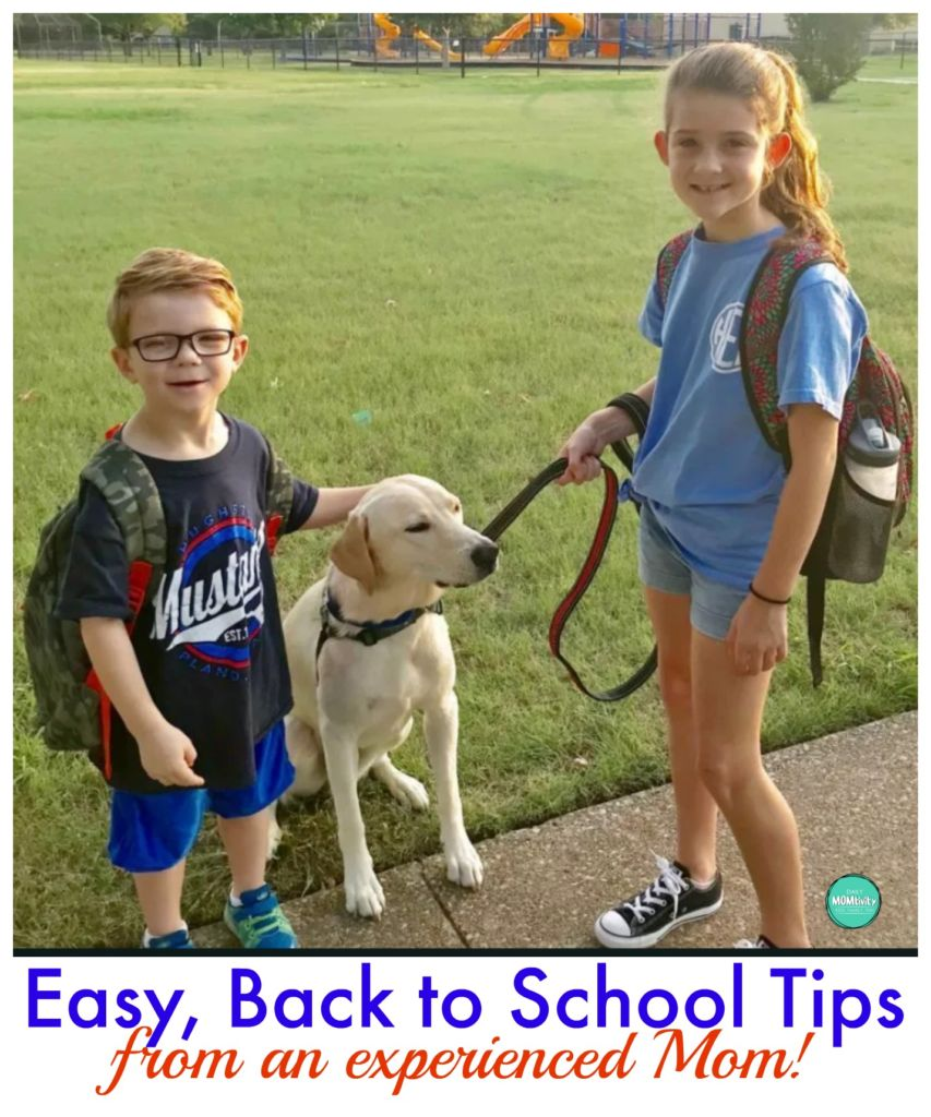 The best back to school tips from an experienced Mom!