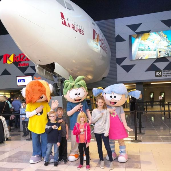 The New KidZania USA in Frisco, TX