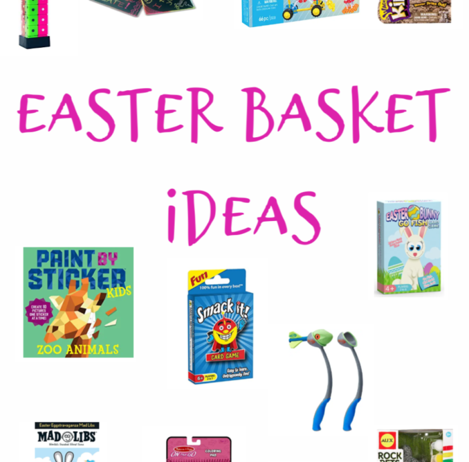 Easter basket ideas for the kids- all from Amazon