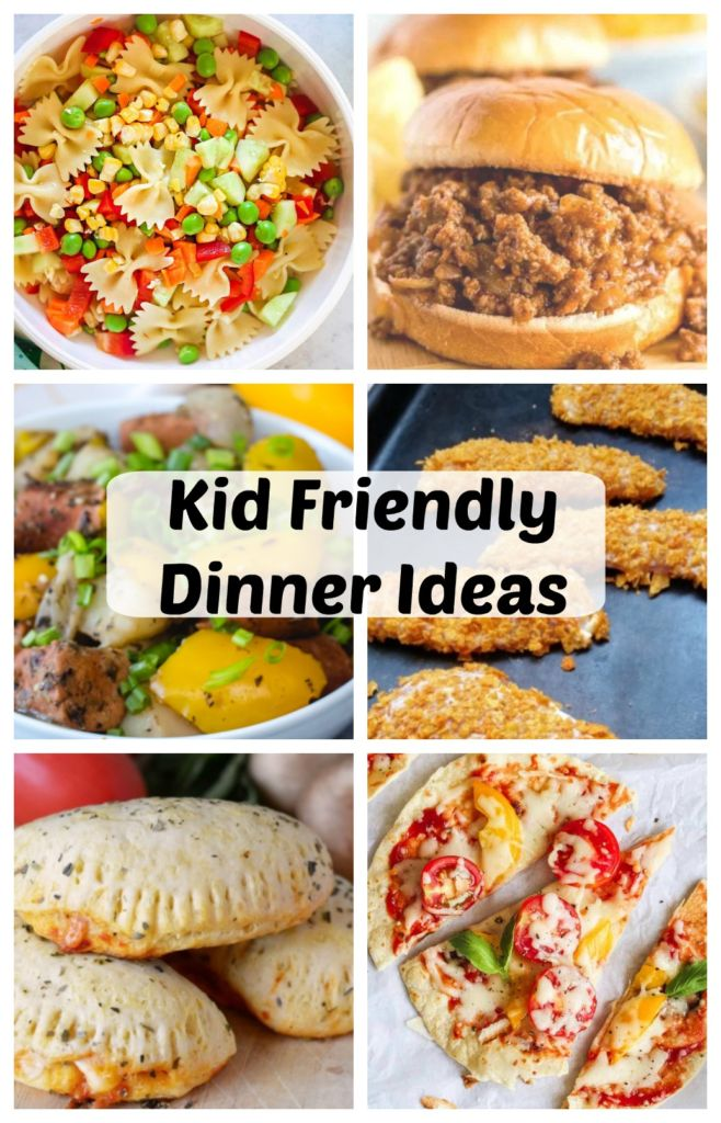 20 + kid friendly dinner ideas! From chicken to pasta and more- a full list of ideas to try out for your kids