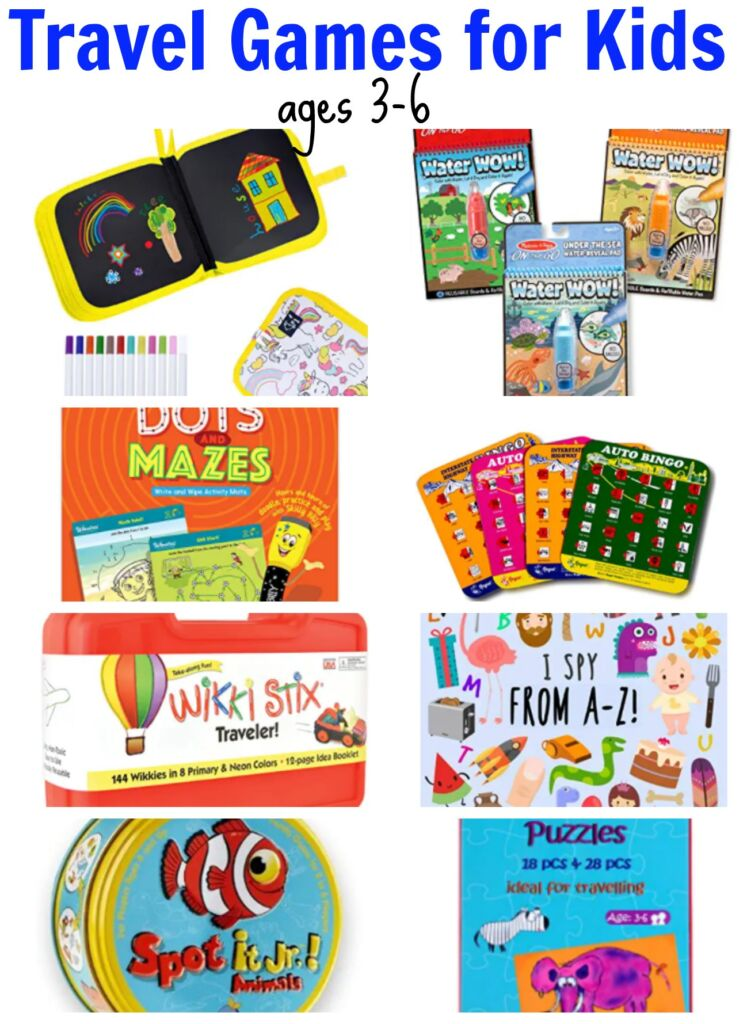 The best travel games for kids ages 3-6