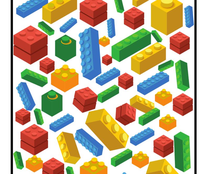 I Spy LEGO printable
