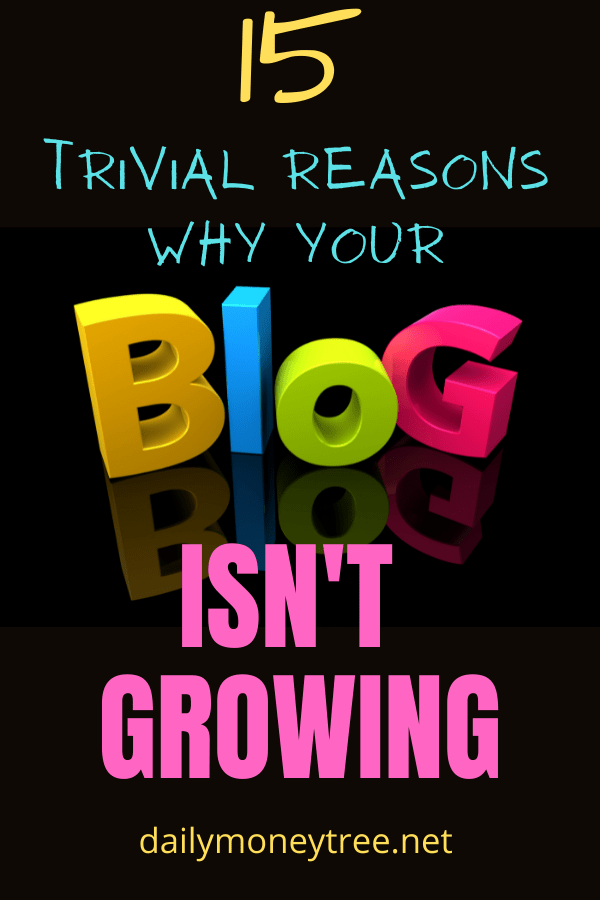 Why Your Blog Isn't Growing