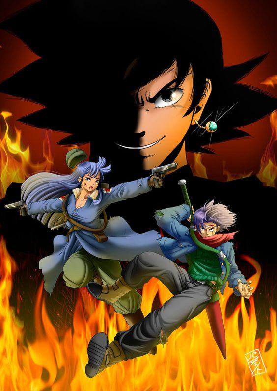 Trunks et Mai VS Black Goku.jpg