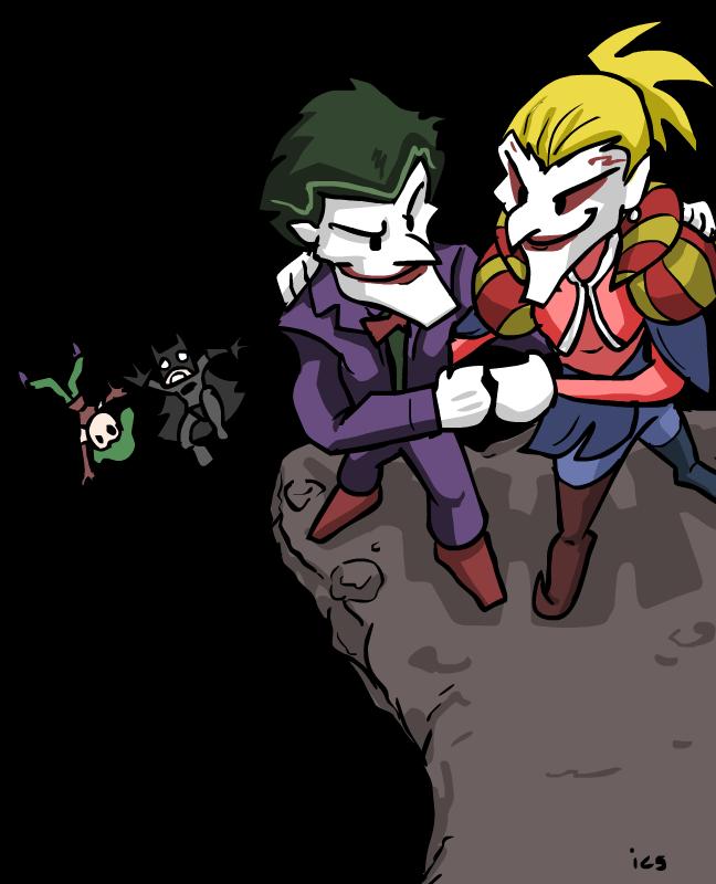 Joker et Kefka contre Batman et Terra.png