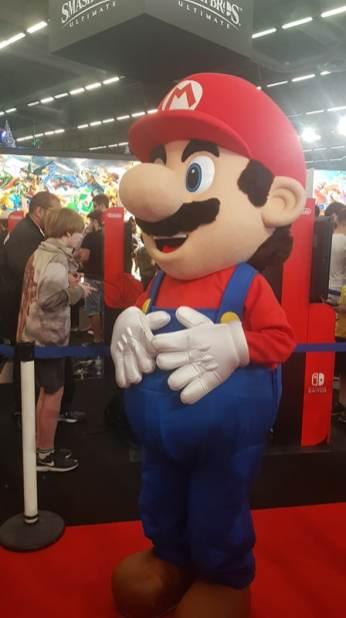 Japan Expo Cosplay Mario