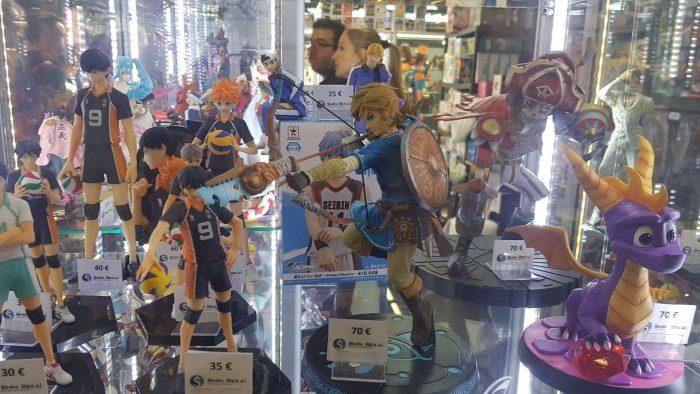 Link Zelda Breath of the Wild Figurine Japan Expo