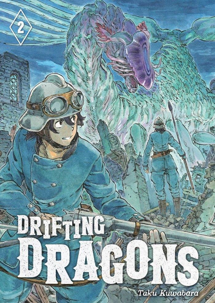 Drifting Dragons Manga