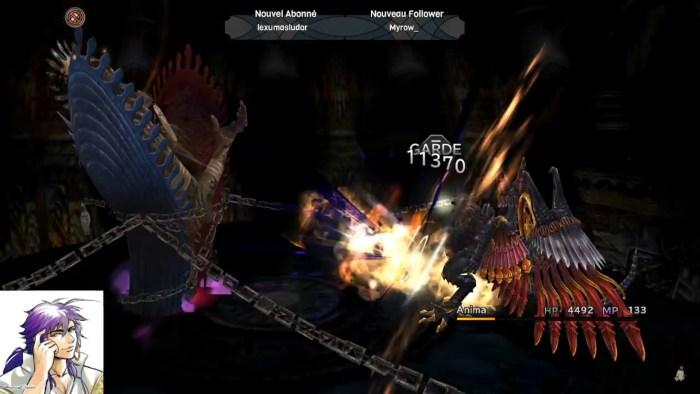 Final Fantasy X Papillons ANima Bahamut